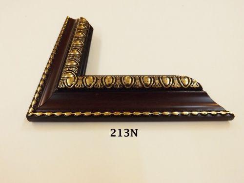 Khung Tranh Composite Kiểu Cổ Điển Màu Nâu Chỉ Vàng Đẹp -30%