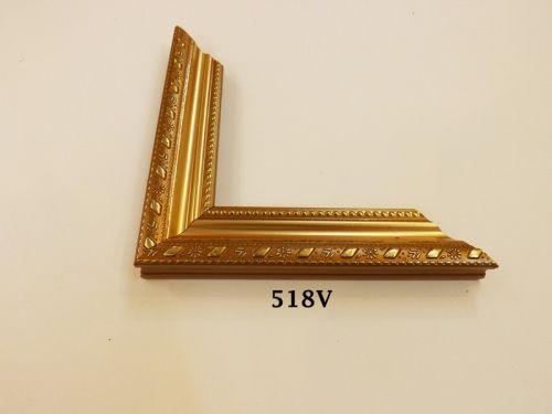 Khung Tranh Màu Vàng Đồng Sang Trọng Gỗ Composite Cao Cấp