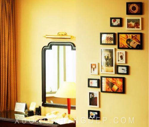 Khung ảnh treo tường thiết kế đơn giản Khung Tranh Đẹp Giá Rẻ