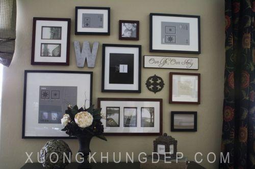 Khung tranh bộ treo tường trang trí quán cafe Khung Tranh Đẹp Giá Rẻ