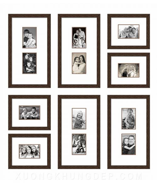 Khung tranh bộ 8 bức treo phòng khách Khung Tranh Đẹp Giá Rẻ