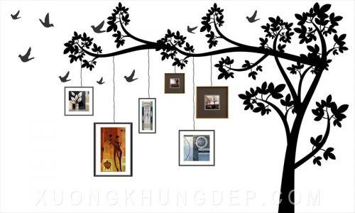 Khung tranh treo tường hình nhánh cây Khung Tranh Đẹp Giá Rẻ