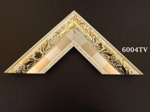 Khung Tranh Ảnh Composite Hiện Đại Màu Kem Hoa Văn Vàng -30%